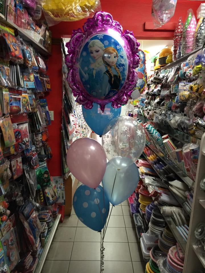Balloons with Foil