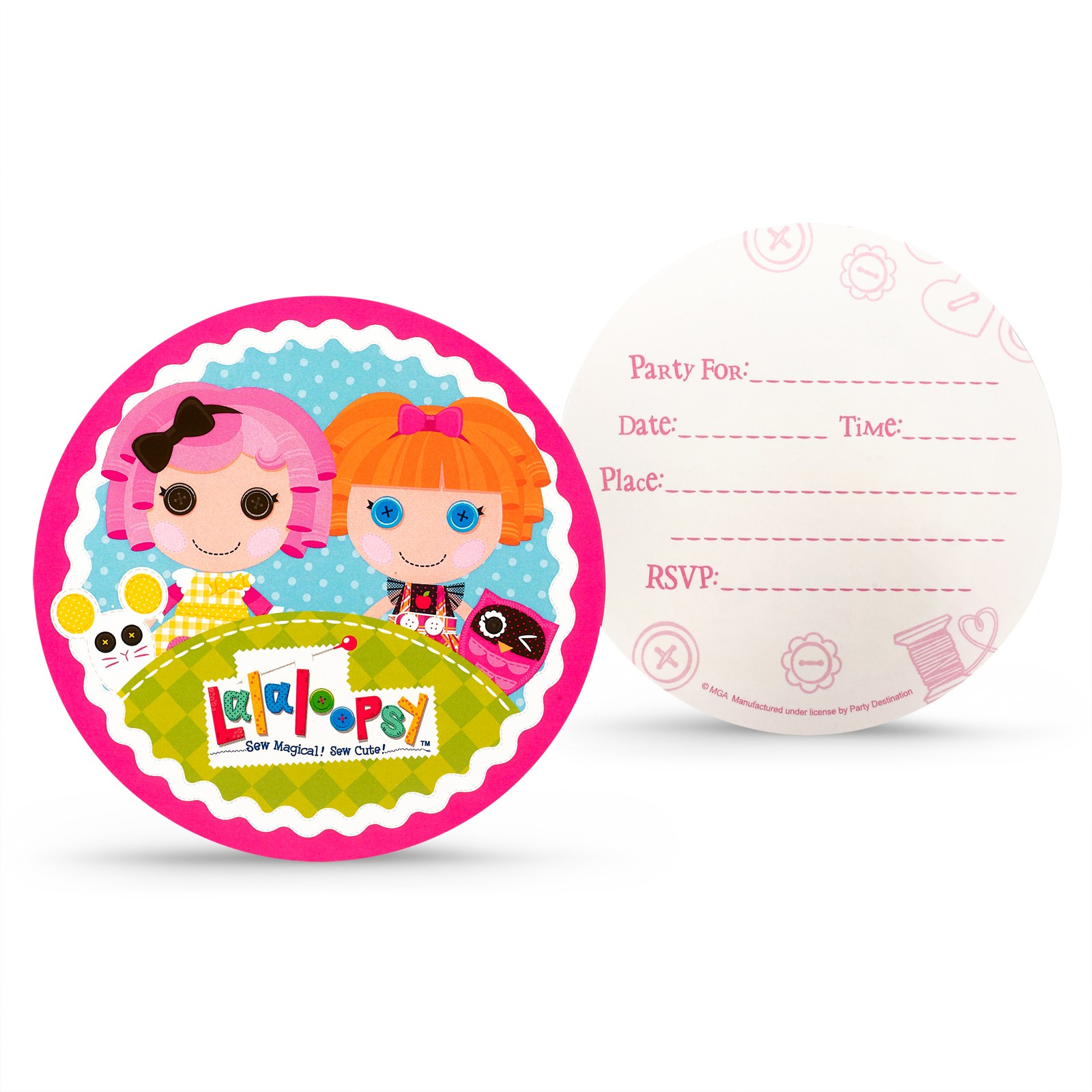 LALALOOPSY INVITATIONS | This Party Started