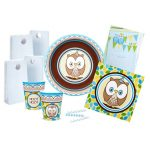 OWL BLUE HOOT HOOT PARTY PACK