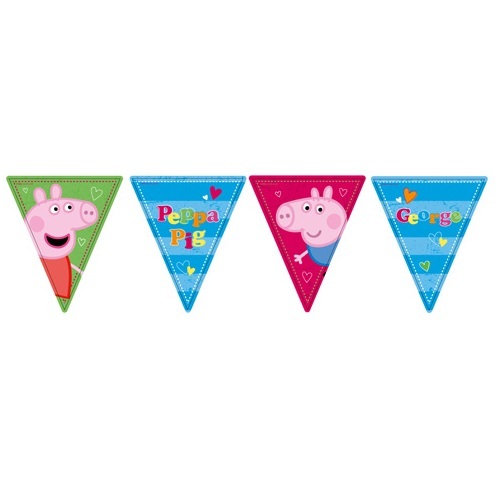 ... › 1st Birthday Themes › PEPPA PIG › PEPPA PIG BIRTHDAY BANNER
