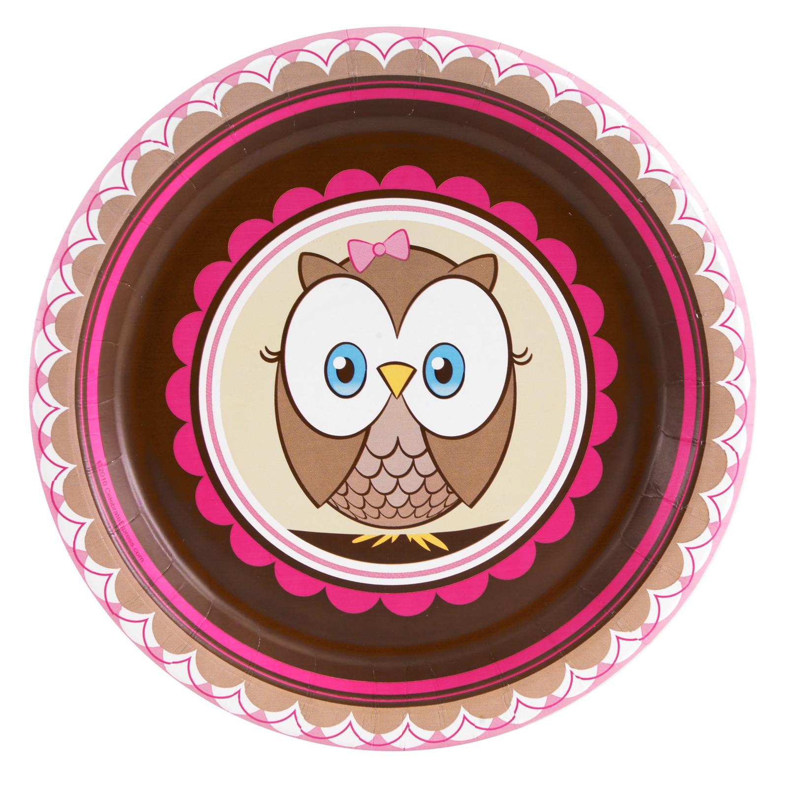 OWL PINK HOOT HOOT