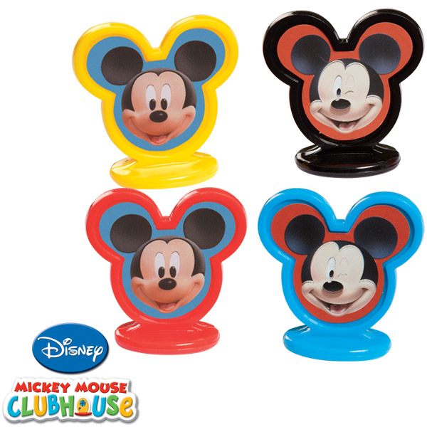Home mickey mouse cupcake toppers