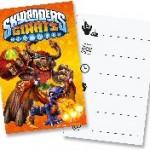 Skylanders invites pk6
