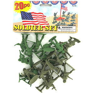 army men bag of soldiers this party started
