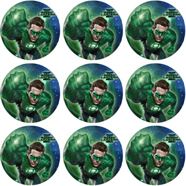 GREEN LANTERN CUPCAKE ICING IMAGES This Party Started