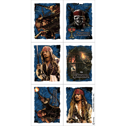 Pirates Caribbean Stickers This Party Started