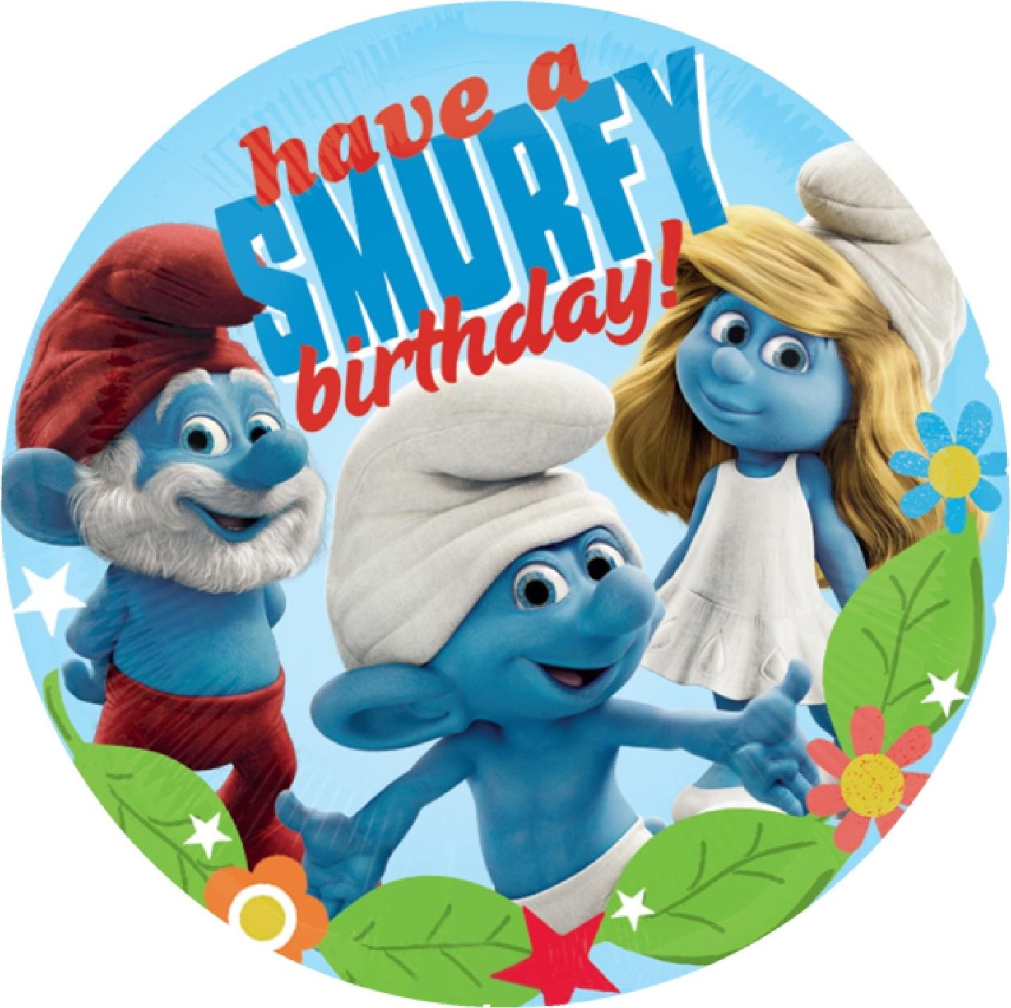 Поздравление с днем рождения смурфики 43
