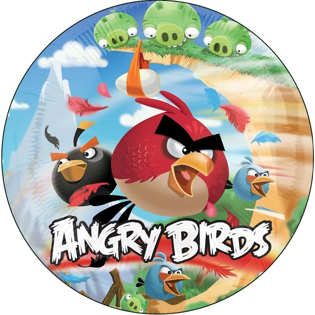 ANGRY BIRDS CAKE ICING IMAGE This Party Started