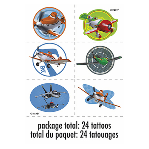 Disney planes temporary tattoos this party started for Disney temporary tattoos