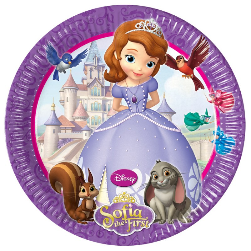 SOFIA THE 1st CAKE ICING IMAGE This Party Started
