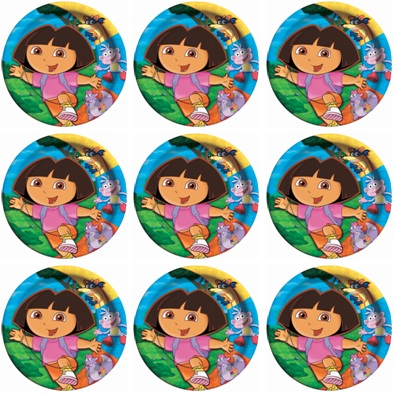 Dora And Friends Cake Toppers