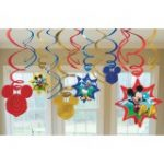 MICKEY MOUSE HANGING SWIRL DECORATIONS