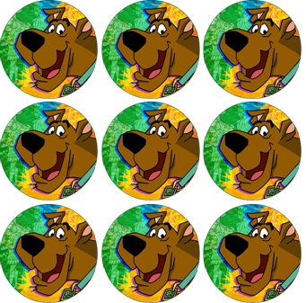 Home › Accessories › Cupcake Icing Images › SCOOBY DOO CUPCAKE ...