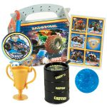 Monster Jam 3D Party Favor Box-1
