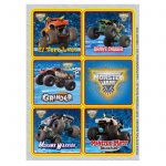Monster Jam 3D Stickers