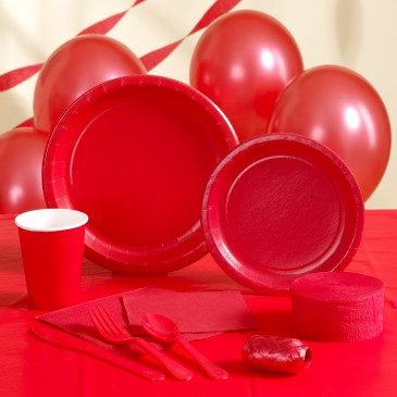 RED PARTY SUPPLIES