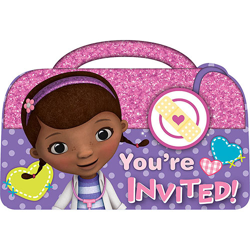 DOC MCSTUFFINS POSTCARD INVITATIONS | This Party Started