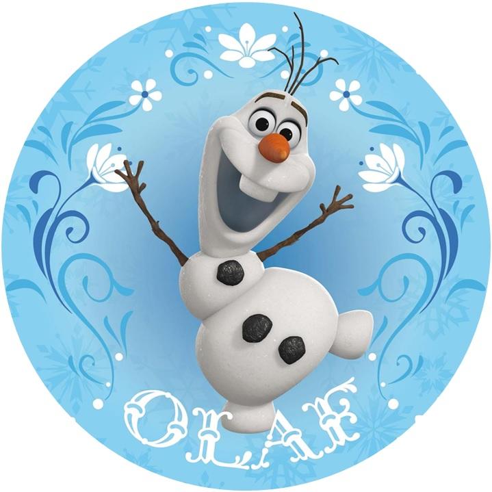 Disney Frozen Olaf Cake Image Cake Decoration Party
