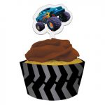 MUDSLINGER CUPCAKE PICKS and WRAPPERS