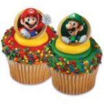 Super Mario Bros. Cupcake Rings