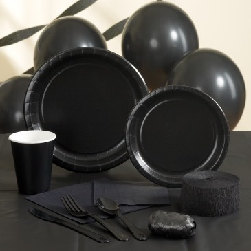 Black Party Supplies