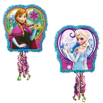 Disney Frozen Pull String Pinata-two side picture  sc 1 st  This Party Started & Disney Frozen Pull String Pinata | This Party Started