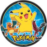 Pokemon & Friends DINNER PLATE