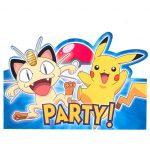 Pokemon & Friends INVITATION
