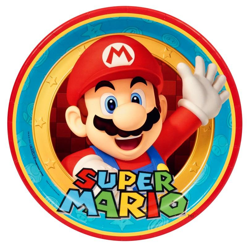 Super Mario Party Dinner Plates | This Party Started