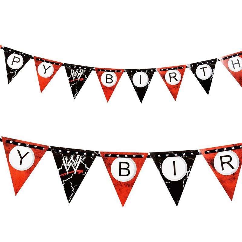 WWE Ribbon Flag Banner