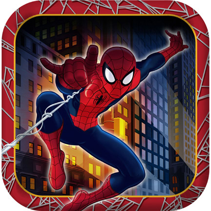 SPIDERMAN HERO DREAM Party Supplies