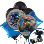 Monster Jam 3D Balloon Bouquet