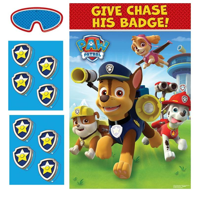 PAW Patrol Party Game This Started