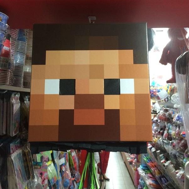 Minecraft Steve Pinata Minecraft Pinata
