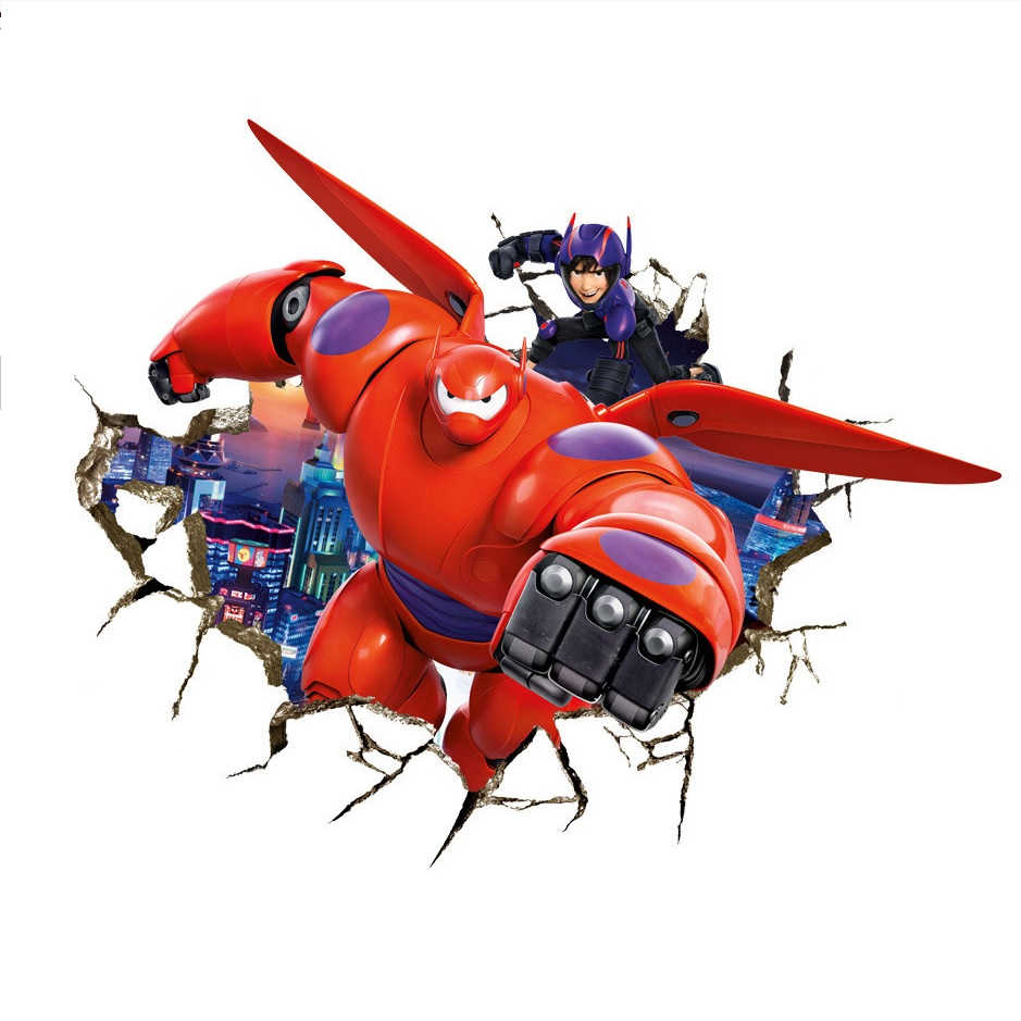 Big Hero 6 Baymax Wall Sticker This Party Started
