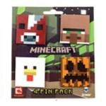 Minecraft 3D Brooch Badges (1)