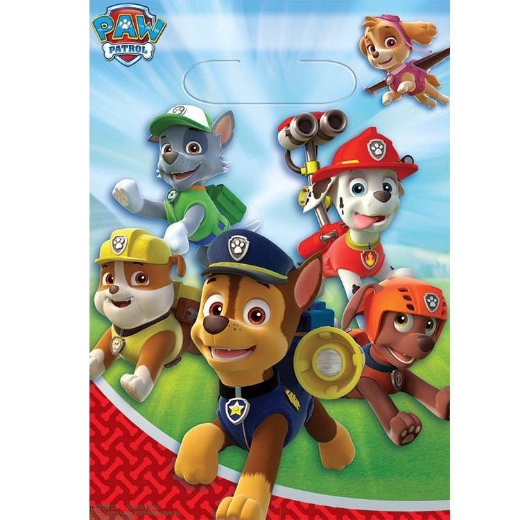 PAW PATROL Treat Bags | This Party Started