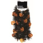 Halloween Pumpkin Tinsel Garland