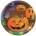 Pumpkin Steps Plates