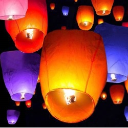 Flying Wishing Lantern