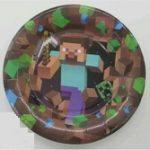 Minecraft Dessert Plate-1