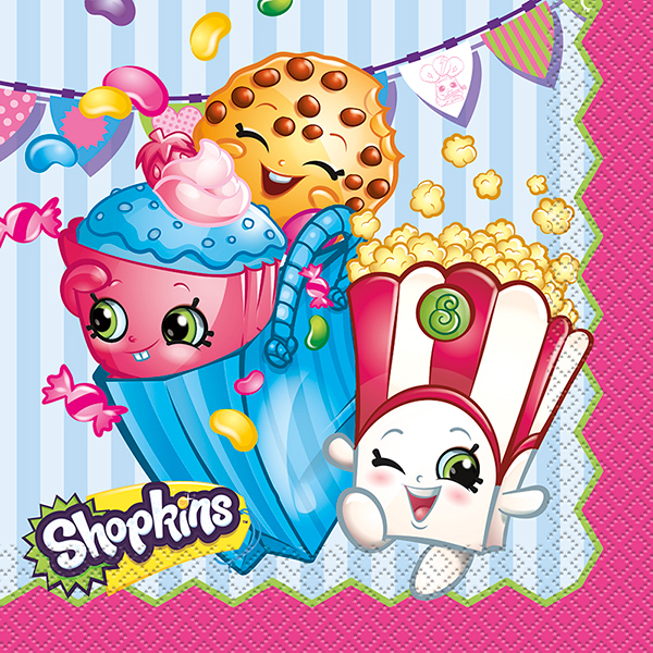 SHOPKINS LUNCH NAPKIN