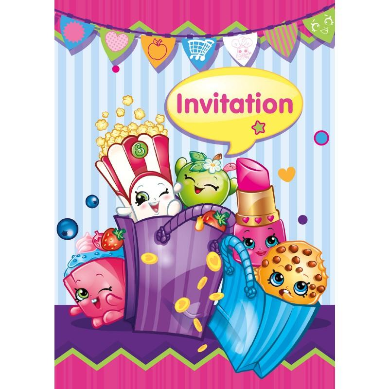 Shopkins Invitations | This Party Started