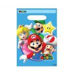 Super Mario Favor Bags