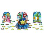 Super Mario Table Decorating Kit 23pc