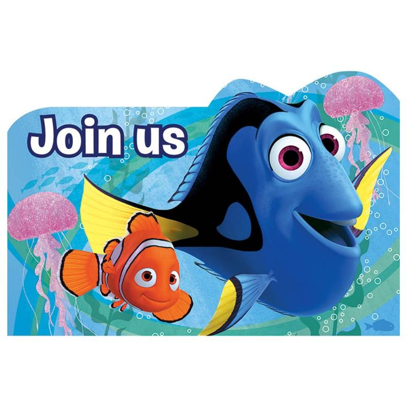 Finding Dory Invitations | Finding Dory Party Supplies | This Party ...