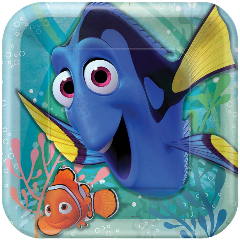 Finding Dory Square Dinner Plates