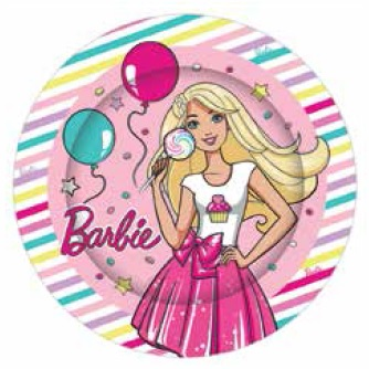 Barbie Paper Plate  sc 1 st  This Party Started & Barbie Paper Plate | Barbie Party Supplies | This Party Started