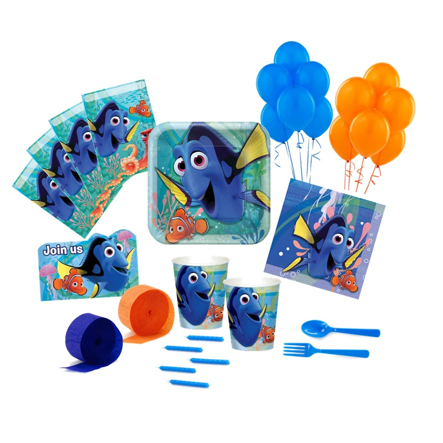 Finding Dory Deluxe Party Pack Finding Dory Party