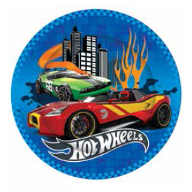 Hot Wheels Party Plate